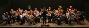 WesterHarmonie bij Najaarsconcert in Harmonie 2013, Amstelveen